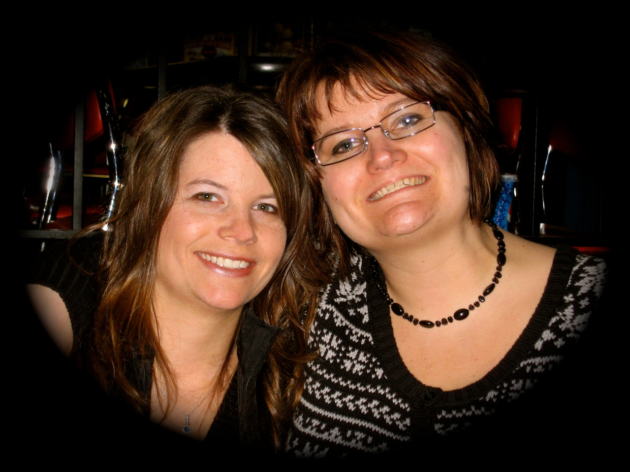 My sister, Tabitha, and Me