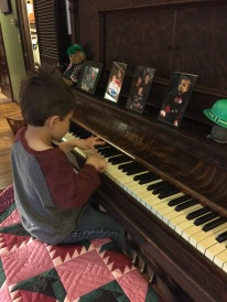Our little pianist